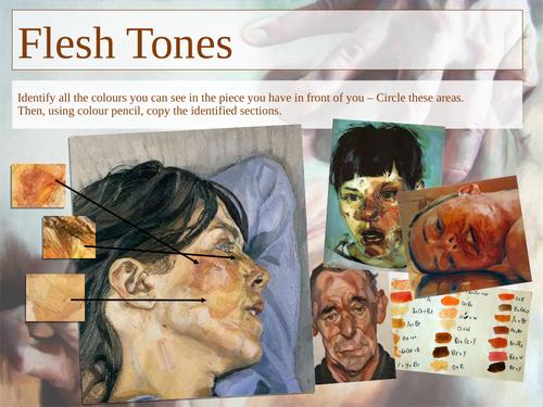 Flesh Tones - Painting Experiments