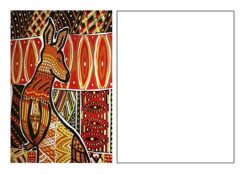 Aboriginal Art - Cover worksheets
