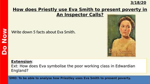 An Inspector Calls - Eva Smith