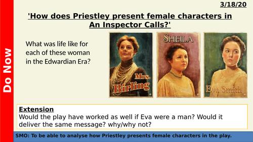 An Inspector Calls - Gender