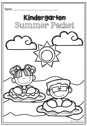 Practice Packet for Early Learners-Kindergarten Summer Packet