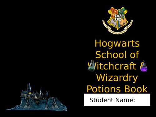 Hogwarts Potions Booklet - Practicals