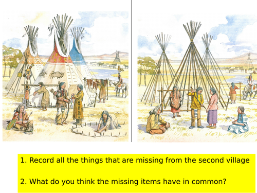 What did tipis look like and making your own