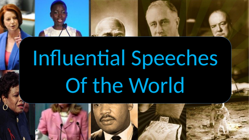 Influential Speeches of the World