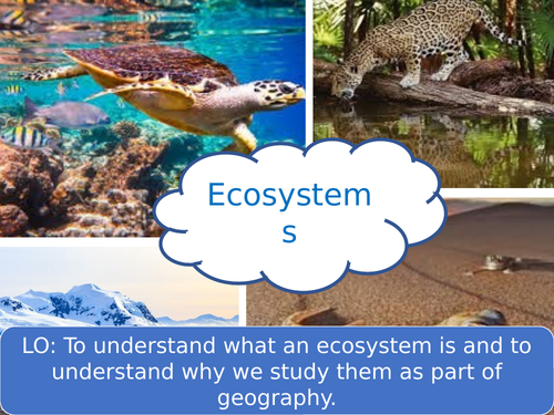 Ecosystems and the Living World