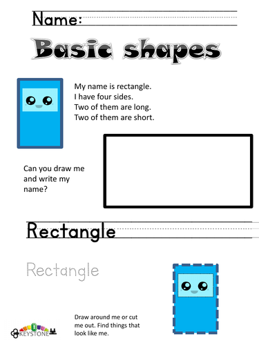 Rectangle early maths