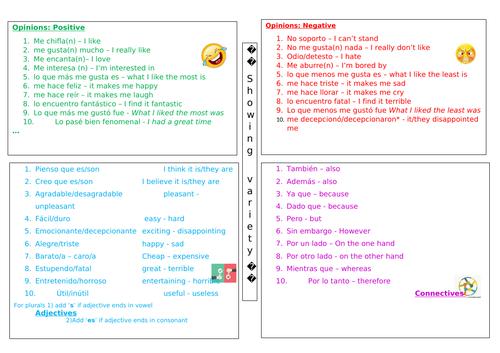 Variety language mat