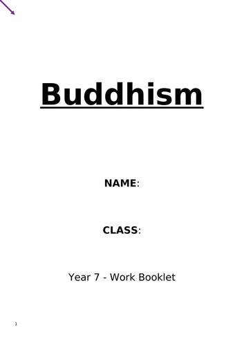 Buddhism Workbook KS3