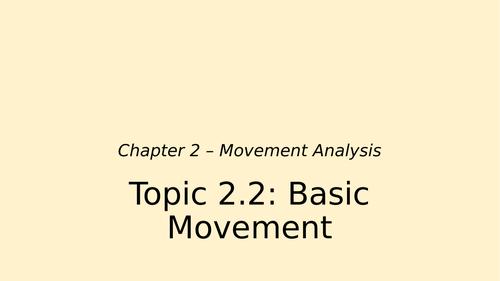 Basic Movement Types