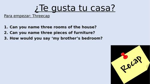te gusta tu casa
