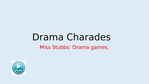 Drama charades!