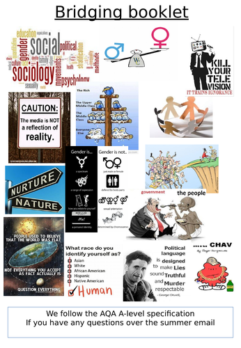 A-Level Sociology Year 12 Induction Booklet