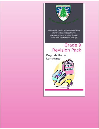 English Exam Study Pack
