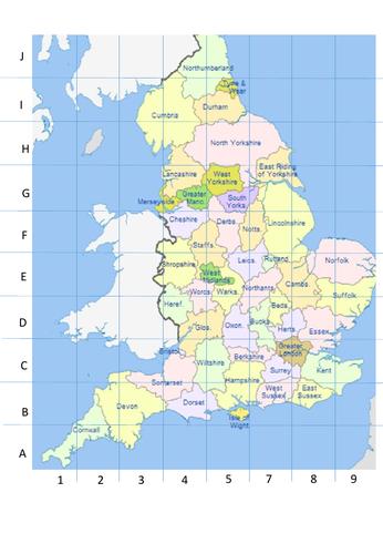 Grid References UK