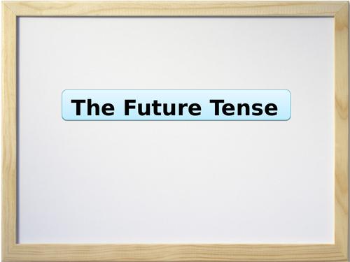 Spanish Grammar Presentation - Future Tense