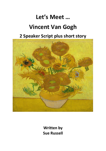 FREE Home School VIncent Van Gogh 2 speakers