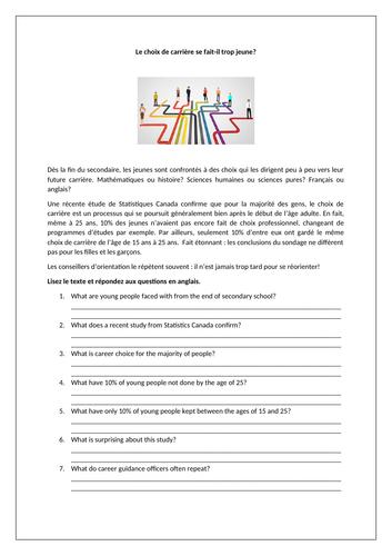 AQA Studio GCSE French (Higher) - Module 7 - Quelle orientation t'attire? - Page 142