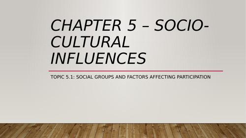 Factors Effecting Participation