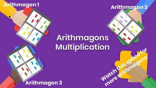 Arithmagons: Multiplication