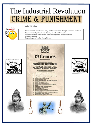 Crime and Punishment In Britain - The Industrial Revolution