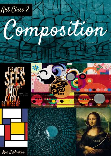 Art Class Entire Booklet- COMPOSITION