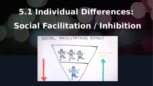 OCR A Level PE Year 1 Sport Psychology - Social Facilitation