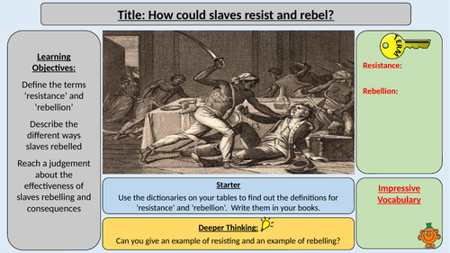 Slavery - Slave Resistance and Rebellions