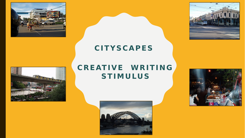 Home learning Creative & Descriptive writing - Cityscapes
