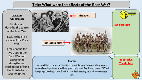 South Africa and the Boer War