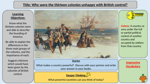 American War of Independence - Opposition to British Rule