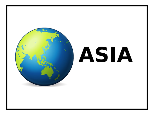 ASIA - PowerPoint and work booklet