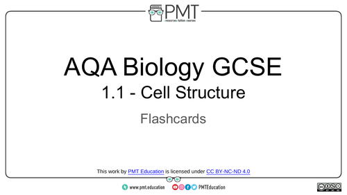 AQA GCSE Biology Flashcards