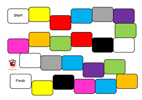 Games for revision of the Colours in Irish