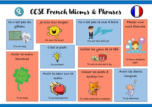 GCSE French idioms
