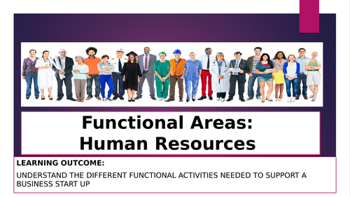 Functional Areas HR