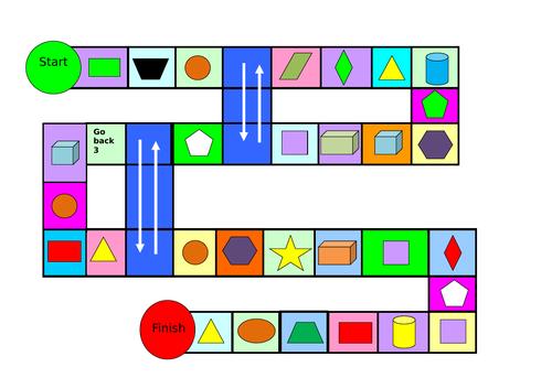 Name the shape game