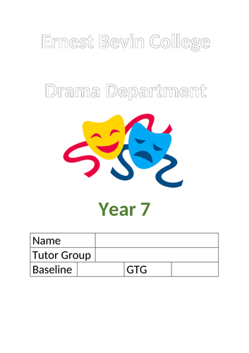 KS3 assessment tracking booklet