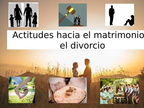 AS- Actitudes hacia el divorcio y el matrimonio
