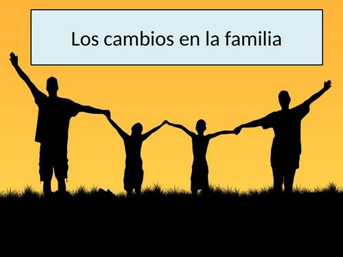 AS Los cambios en la familia