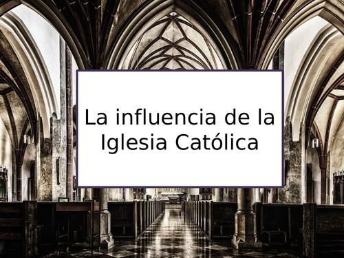 AS La influencia de la Iglesia Católica