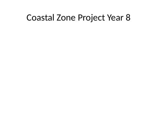 Coastal Zone Project KS3