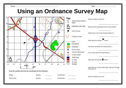 Using an Ordnance Survey Map