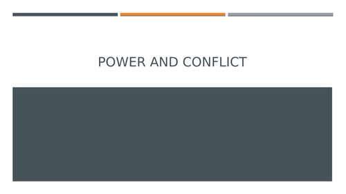 Power and Conflict: Kamikaze