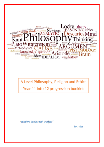 Bridging Project:  A Level Philosophy, Religion and Ethics