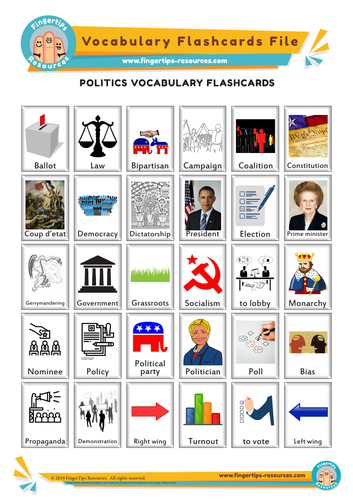 Politics & Government Vocabulary Flashcards