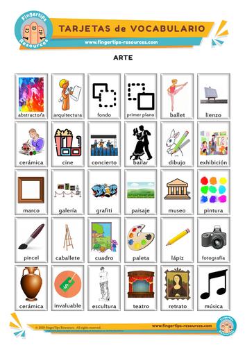 Arte - Vocabulary Flashcards
