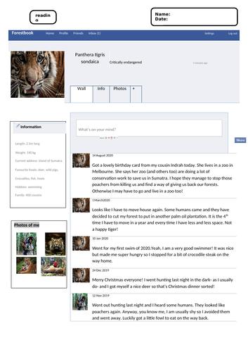 The Sumatran tigers