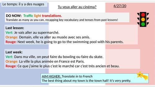 Traffic Light Translations -  Ma ville