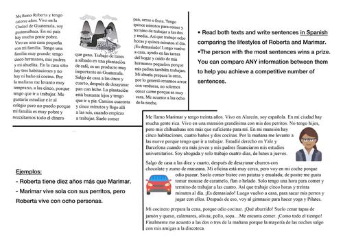 Mira 3 - Unit 5 Hispanoamerica: Unit 5.1 El Mundo Hispano, 5.2 Mi Vida Diaria, 5.3 El Medio Ambiente