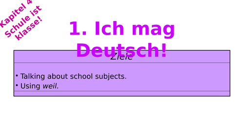 Stimmt 1 - Schule ist Klasse (full Kapitel 4)